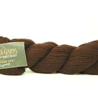 Cascade 220 Fingering 8686 Brown