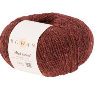 Felted Tweed 196 Barn Red
