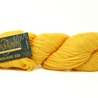 Cascade 220 Wool 7827 Goldenrod